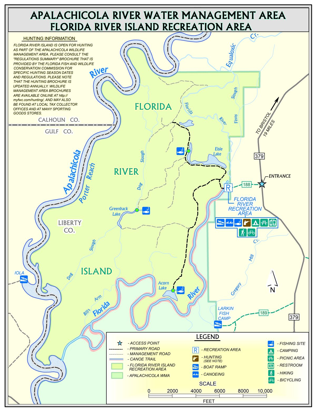 Florida River Island Northwest Florida Water Management District - Florida map rivers